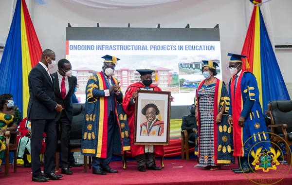 """""""Free SHS has reversed decades of exclusion , enhanced access and quality -President Akufo-Addo"""