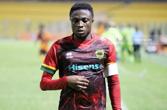 Kotoko offers contract extension to in-form attacker Emmanuel Gyamfi
