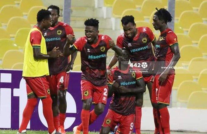 Bouyant Asante Kotoko in a ticklish clash with Dreams FC