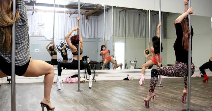 Strippers are back on the job but COVID rules are hurting their pay