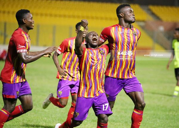 Hearts of reclaim top position after Berekum Chelsea win