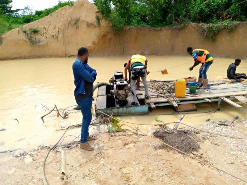 One dead body retrieved in a galamsey pit at Sekyere-Krobo