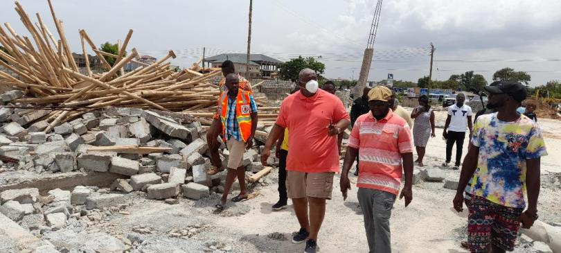 Greater Accra Regional Minister vows to demolish structures on waterways