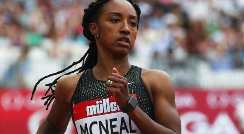 Brianna McNeal: Olympic champion banned for five years for breaking anti-doping rules