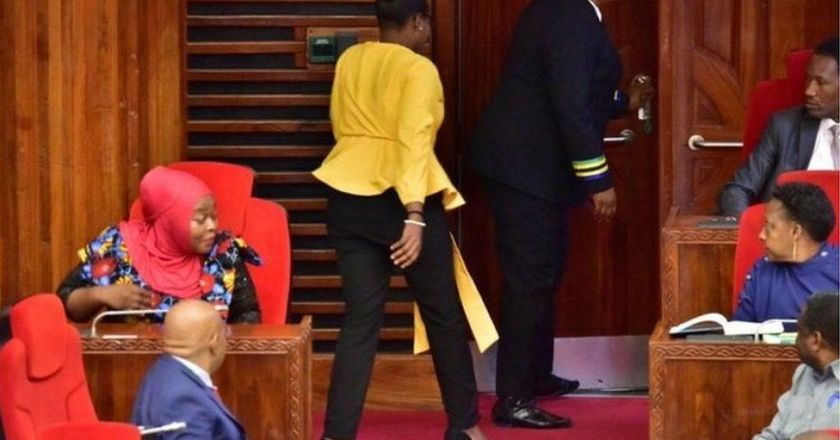 Tanzania: Female MP ordered to leave Parliament over tight trousers (PHOTOS)