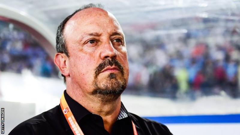 Everton: Rafael Benitez leads the running for manager's job