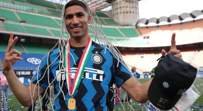 Achraf Hakimi: Chelsea and Paris St-Germain interested in Inter Milan defender