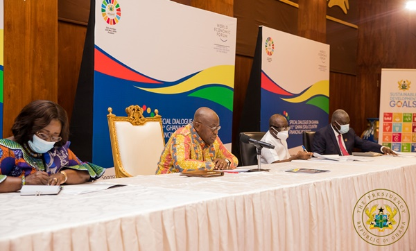 """""""Ghana is a prime, ripe destination for doing business- Pre Akufo-Addo to global CEOs"""