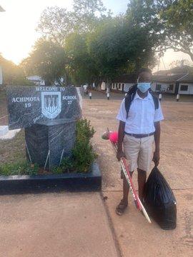 Rasta student, Oheneba Nkrabea admitted to Achimota School