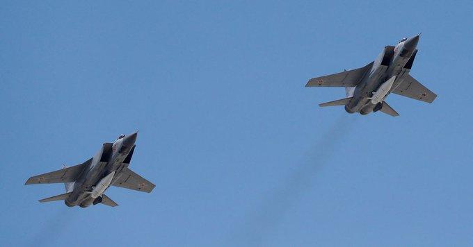 Russia scrambles fighter jet to accompany U.S. military plane