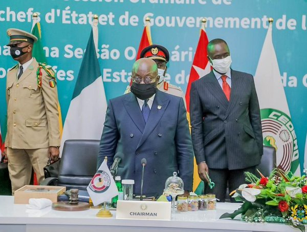 ECOWAS gives Guinea six months to return country to constitutional order