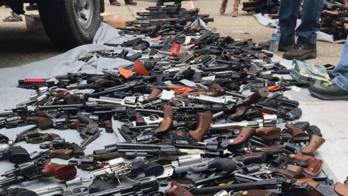 3 hidden rifles intercepted at Tema Port