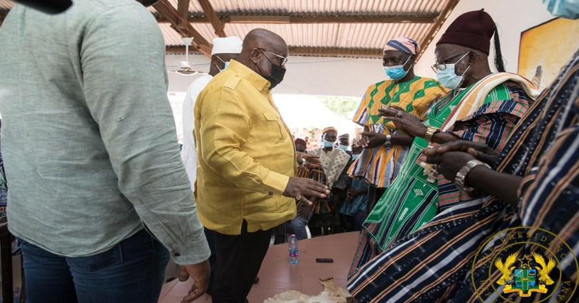 President Akufo-Addo Ends Tour Of Upper East Region; Commissions Bolga East Assembly Building