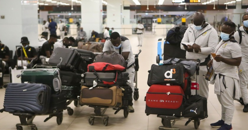 Black Stars arrive home after Morocco friendly