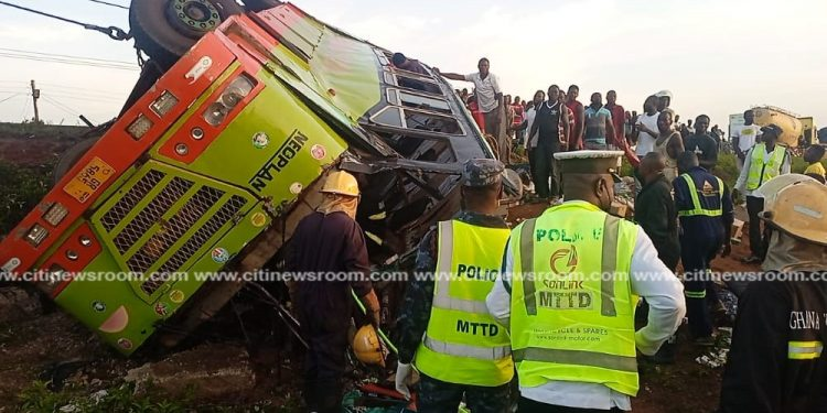 Pregnant woman; 3 others reported dead in accident on Kintampo road