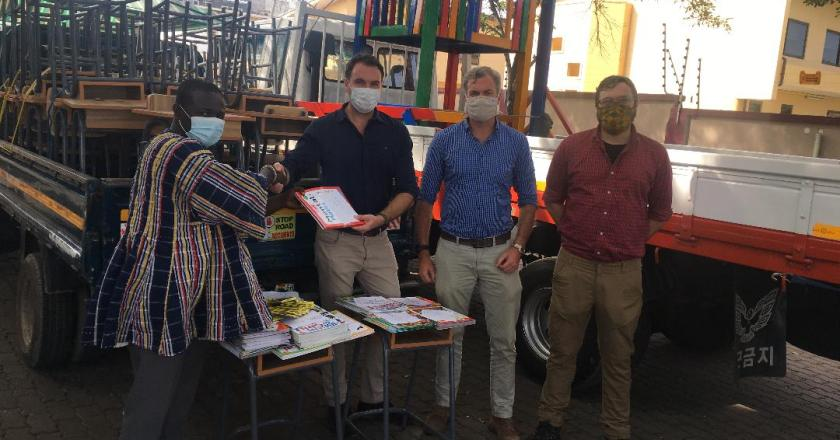Australian family supports lower Axim Traditional council