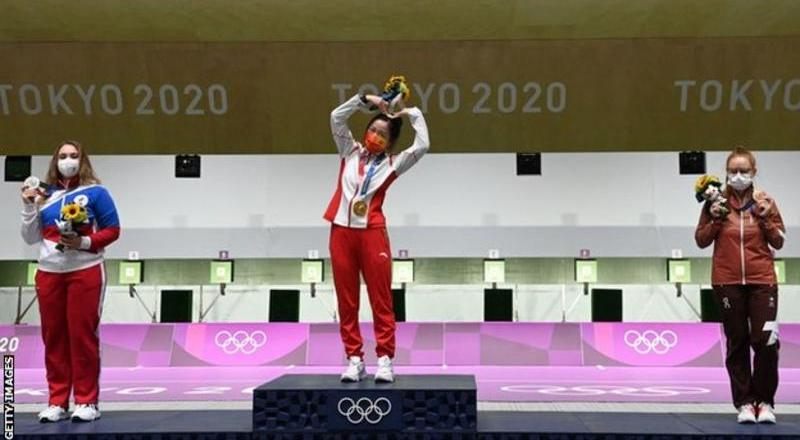 Tokyo Olympics: First gold of Games goes to China's Yang Qian in shooting