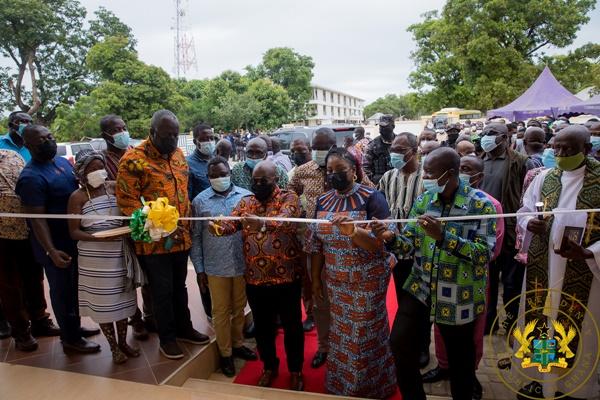 President Akufo-Addo Commissions Tumu Business Resource Centre