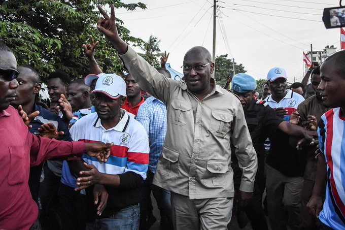 Tanzanian opposition leader arrested – Chadema