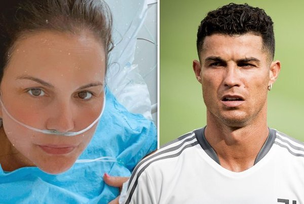 Cristiano Ronaldo's sister hospitalised with pneumonia after covid-19 complications