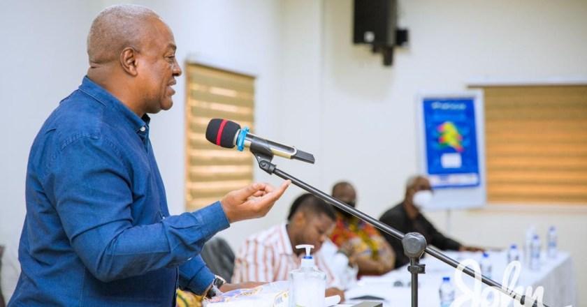 Remarks by Former President JD Mahama- State of Ghana's Economy Forum