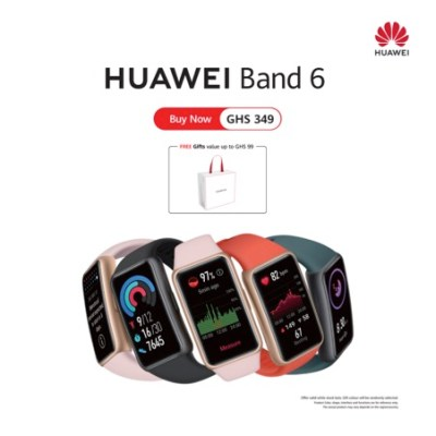 Four reasons we love the new fashion band; the HUAWEI Band 6