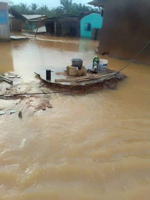 Duahorozo residents displaced by flood