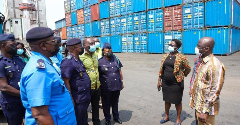 Confiscated rosewood containers handed over to National Security