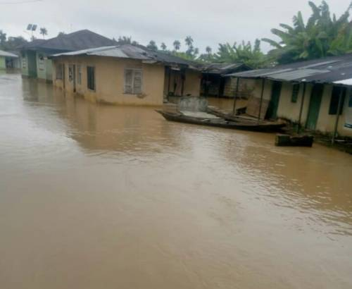 Parts of Tamale flooded after three hour downpour