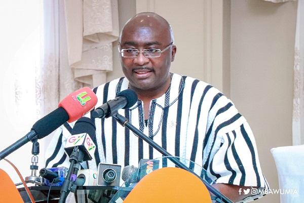 Let's Remind Ghanaians Of Our Success Stories – VP Bawumia To MPs