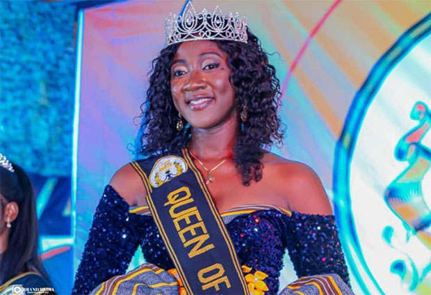 Miss Tung-Teiya Dahamani, has been crowned Queen of North Ghana Reality show held in Tamale in the Northern Region