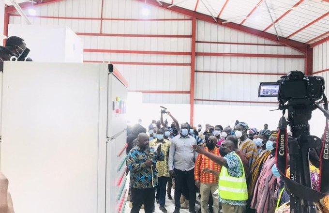 Akufo-Addo Commissions Savelugu Rice Processing Factory