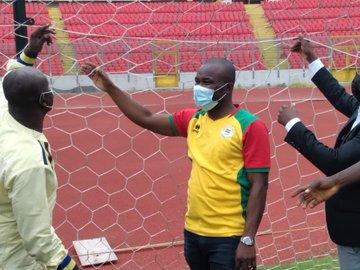 NSA Boss inspects progress of Baba Yara Sports Stadium