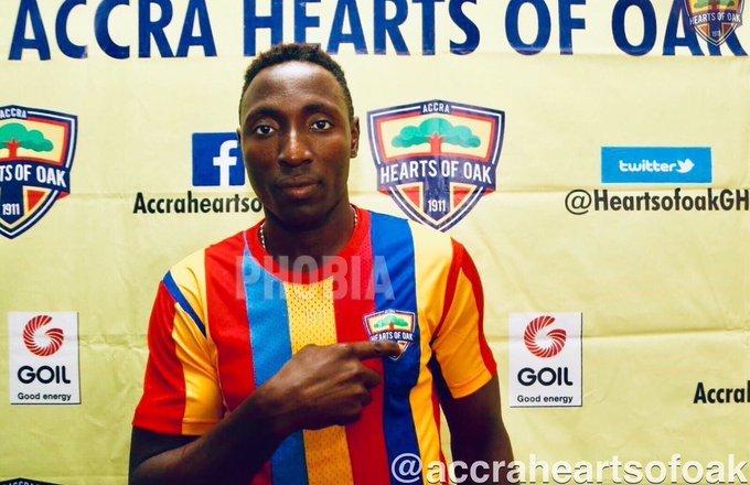 Former Hearts of Oak striker Kofi Kordzi rejoins  team