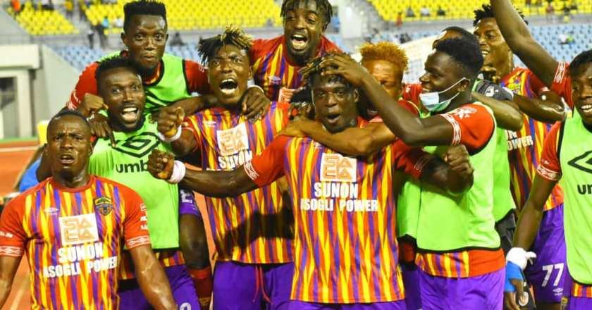 Afriyie Barnieh, Botwe, Afutu and other Hearts players dominate Black Stars B team