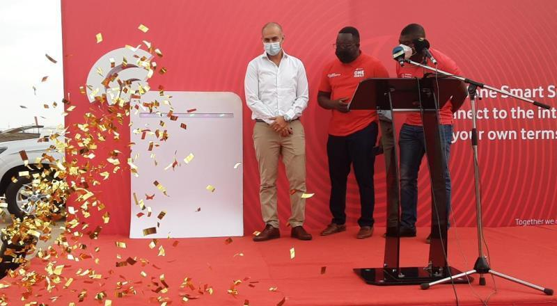 Vodafone Ghana launches Smart Surf Wireless Router