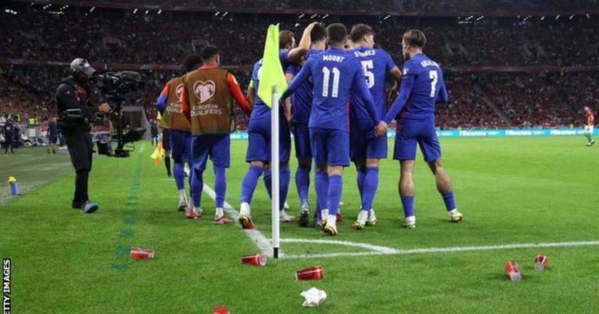 Hungary v England: Visiting players racially abused at Puskas Arena