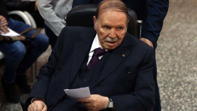 Former Algerian president Bouteflika dies aged 84