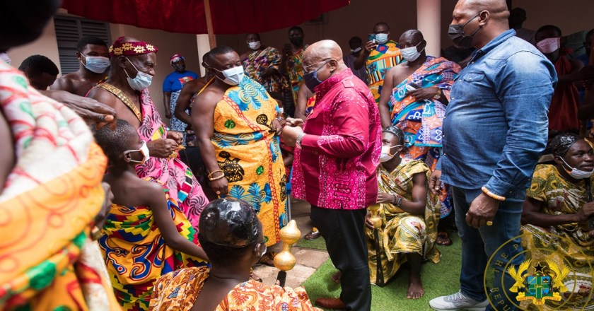 """""""I'm A Firm Believer In Presidential Term Limits"""" – President Akufo-Addo"""