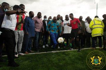 President Akufo-Addo commissions Bantama astroturf