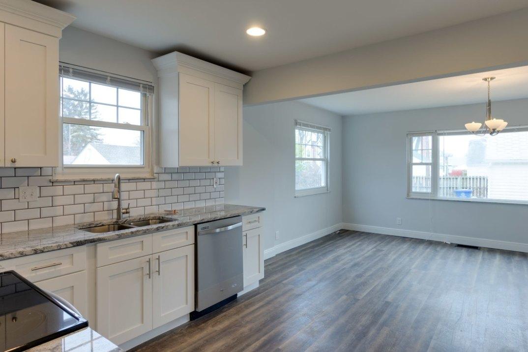 Shaker White Kitchen Cabinets Columbus Ohio Home Improvement
