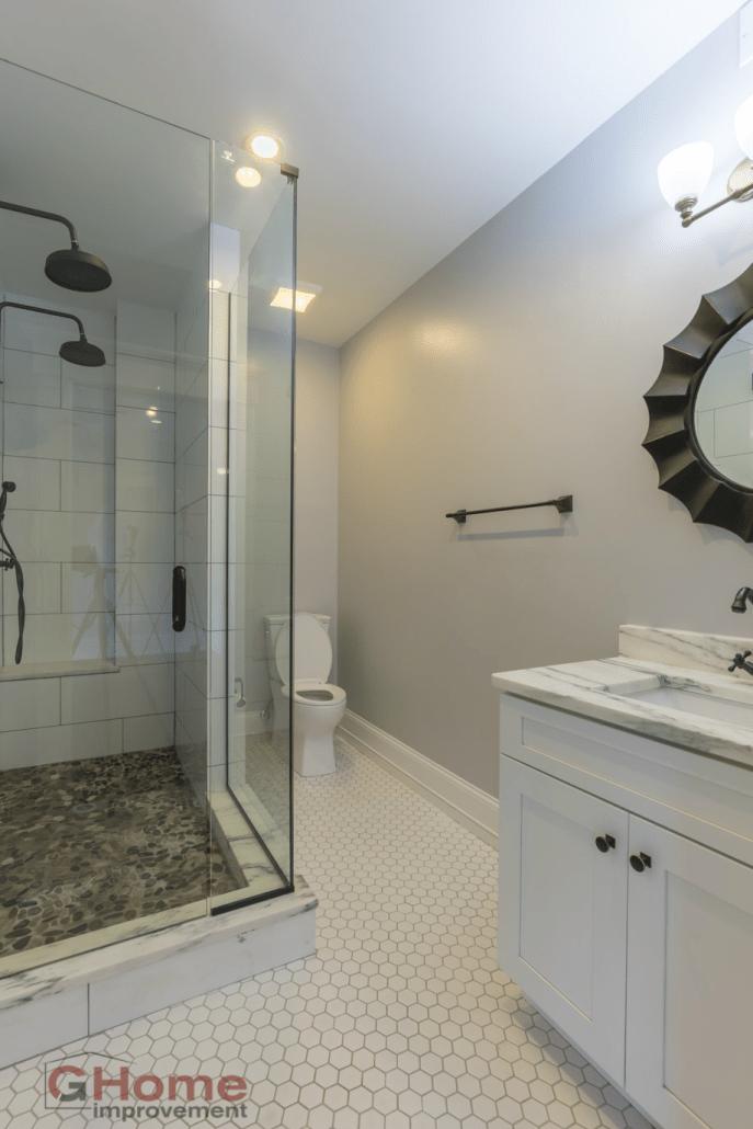 Bathroom Remodel Flooring Olde Towne East Home Improvement