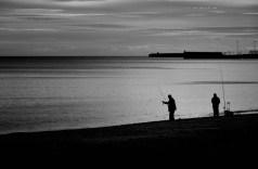 Angler am Mittelmeer (Malaga)