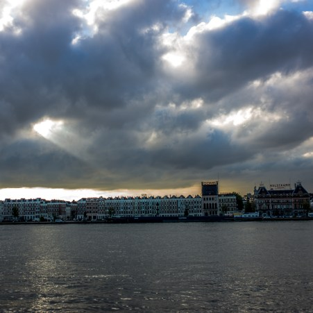 Rotterdam am Morgen danach