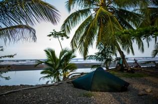 Zelten am Atlantik, Westfalia / Costa Rica