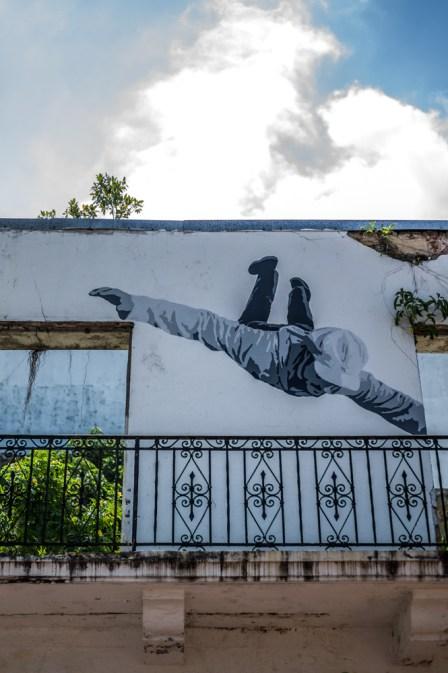 Flying Person in Panama Ciudad