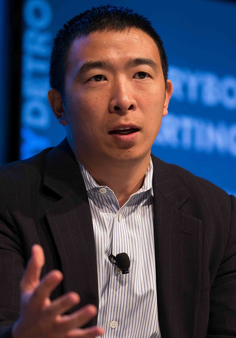 Andrew Yang's Non-Profit gave less than 5% to actual businesses; Most donors from Wall Street.