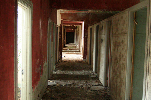 Creepy Convent, Co. Cavan, August 2009 (2/3)