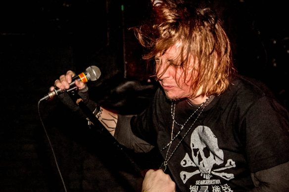 Eyehategod's Mike IX Williams, by Meg Loyal Photography