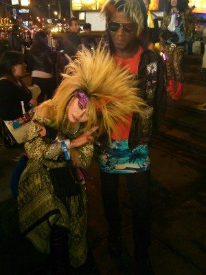 Sean Pierre-Antoine with XJapanMSG cosplayer